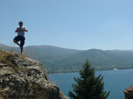 Meditando en Ohrid