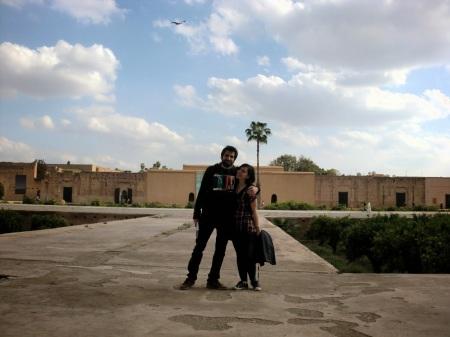 Ruinas en Marrakesh